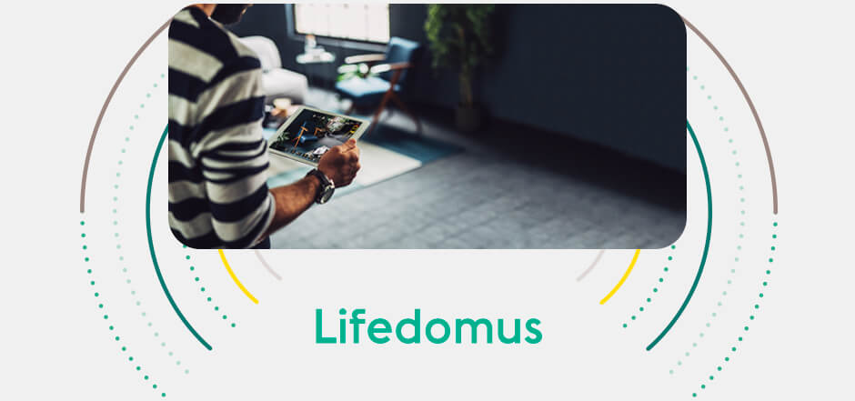 Discover our home automation application Lifedomus