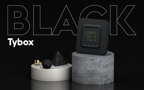 Delta Dore connected thermostatsTybox black 5101