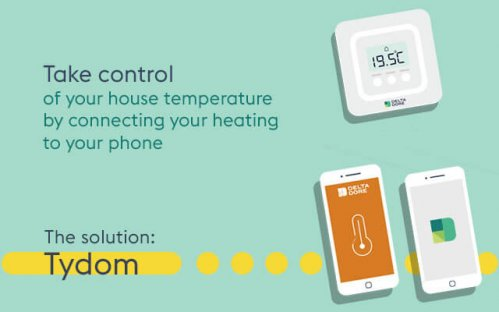 Increase your comfort by connecting your heating to your phone