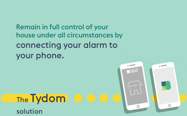 Connect your alarm to your phone for more comfort.