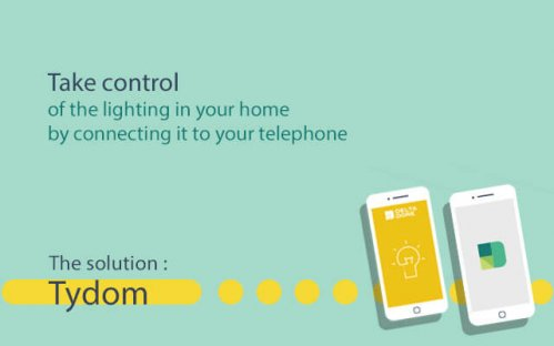 Delta Dore's connected home solutions let you to manage your lighting from your telephone.