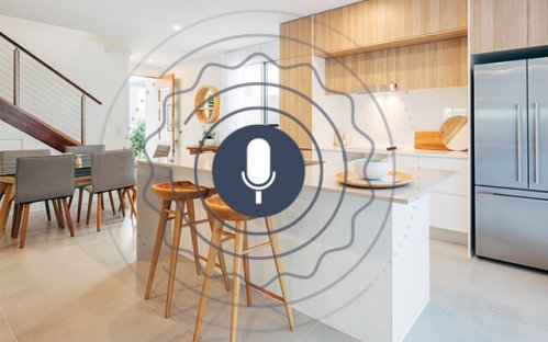 Discover voice control with Delta Dore smart home solutions.